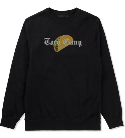 Taco Gang Crewneck Sweatshirt by Very Nice Clothing