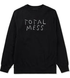 Total Mess Crewneck Sweatshirt by Very Nice Clothing