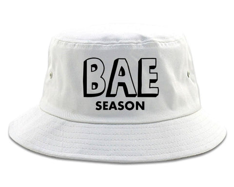 Very Nice Bae Season Babe Black Bucket Hat