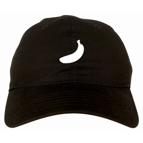 Banana Dad Hat Black