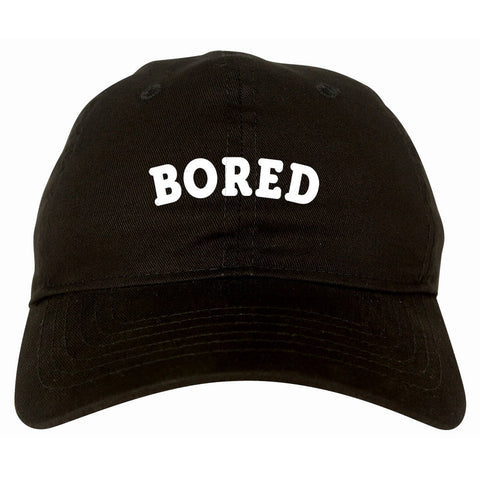 Bored Dad Hat Black