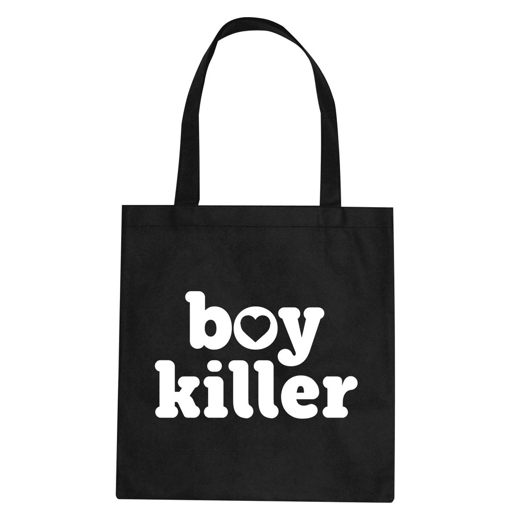 Boy Killer Heart Tote Bag by Very Nice Clothing