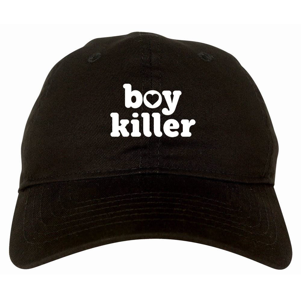 Boy Killer Heart Dad Hat by Very Nice Clothing