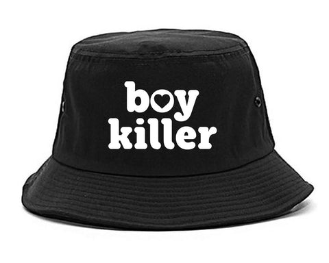 Boy Killer Heart Bucket Hat by Very Nice Clothing