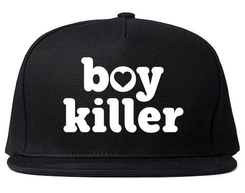 Boy Killer Heart Snapback Hat by Very Nice Clothing