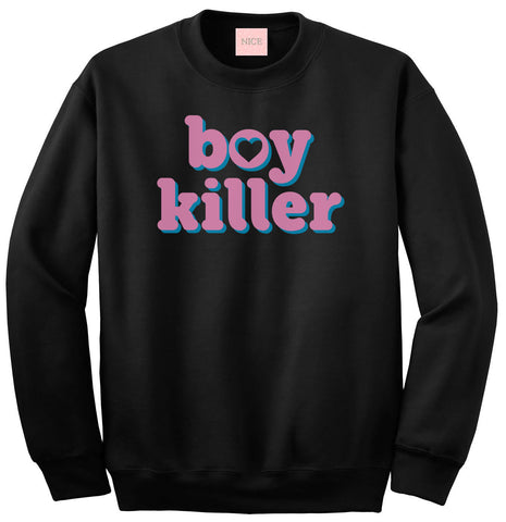 Boy Killer Heart Crewneck Sweatshirt by Very Nice Clothing