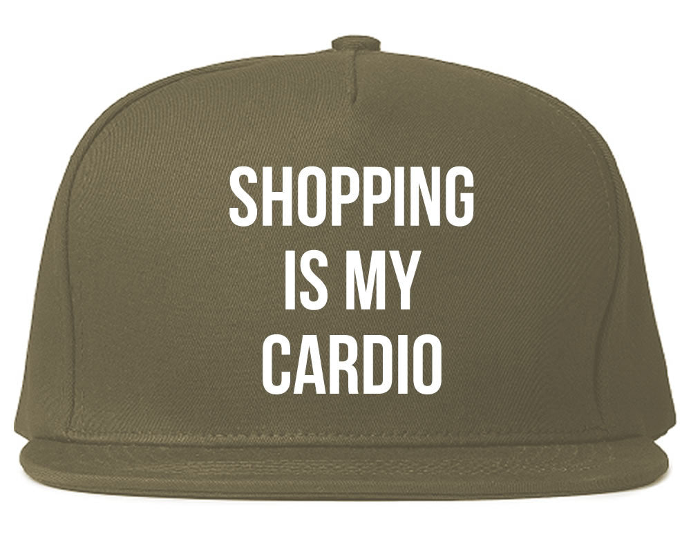Very Nice Shopping Is My Cardio Black Snapback Hat