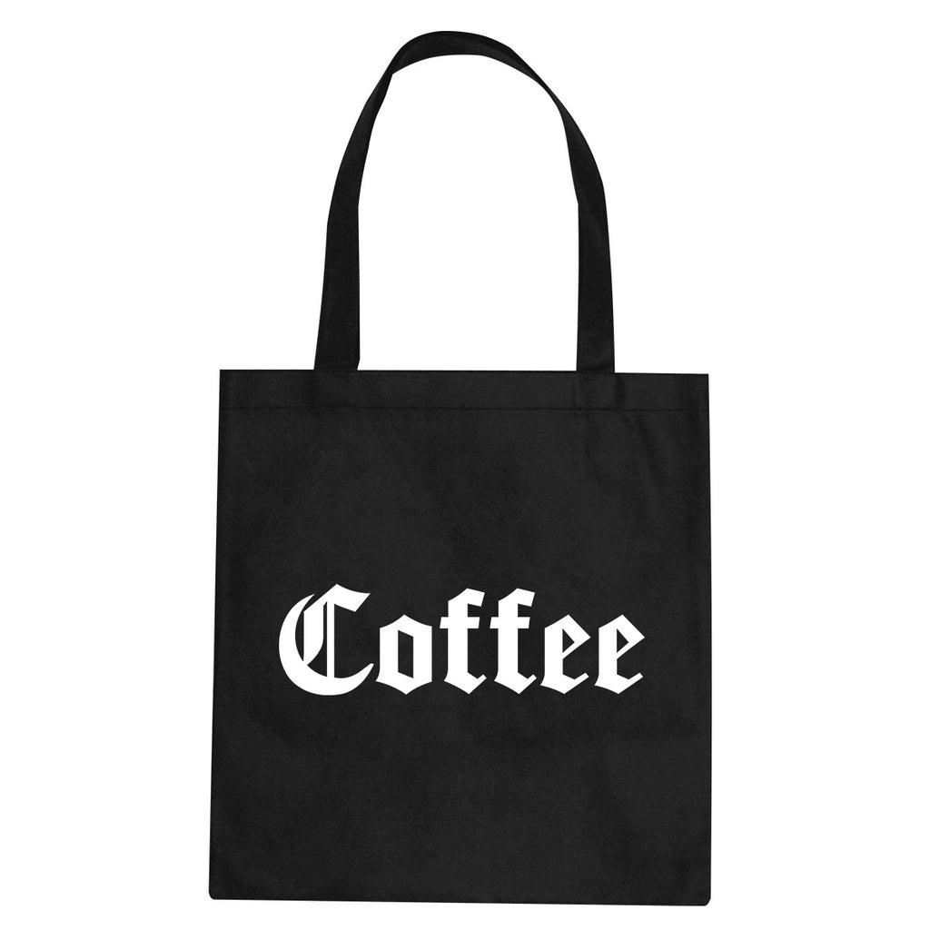 Coffee Tote Bag by Very Nice Clothing