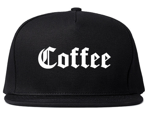 Coffee Snapback Hat by Very Nice Clothing