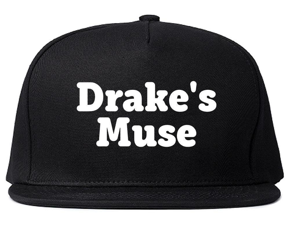 b7aba24da1e Drake s Muse Snapback Hat Black by Very Nice Clothing