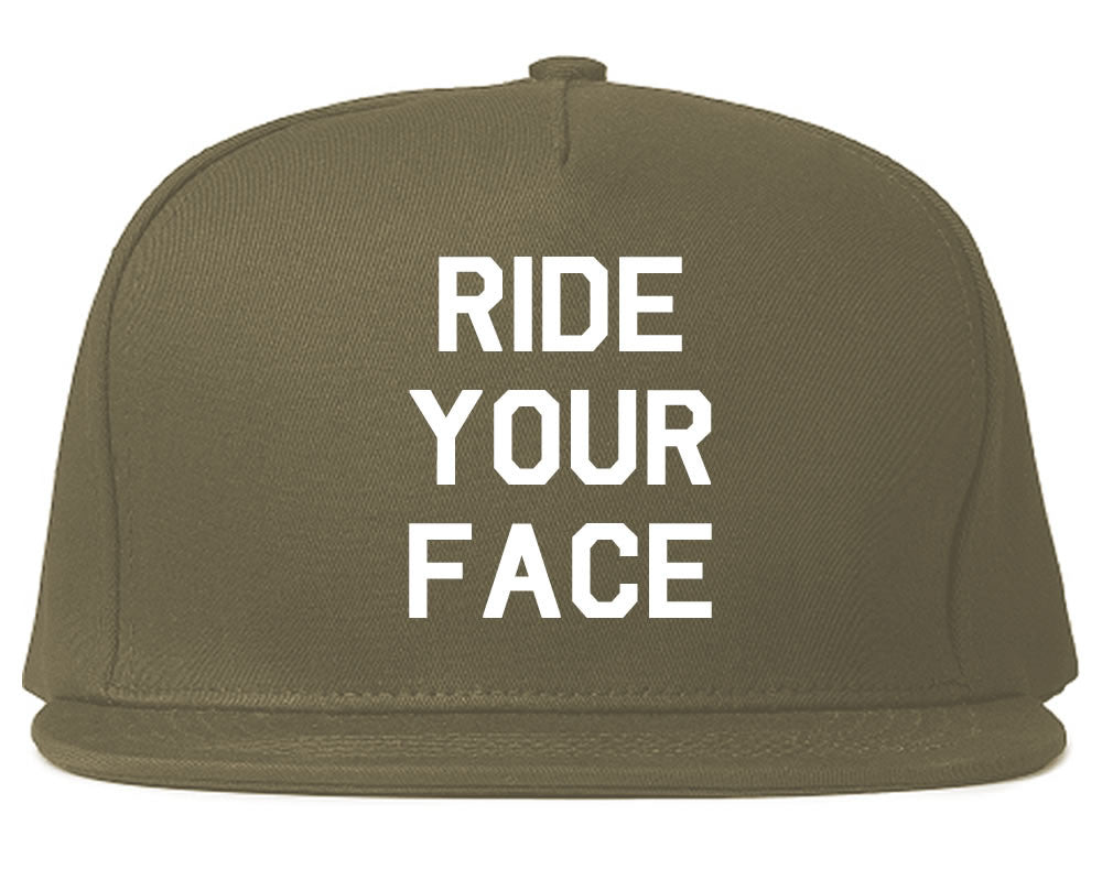 Very Nice Ride Your Face 69 Sexy Black Snapback Hat