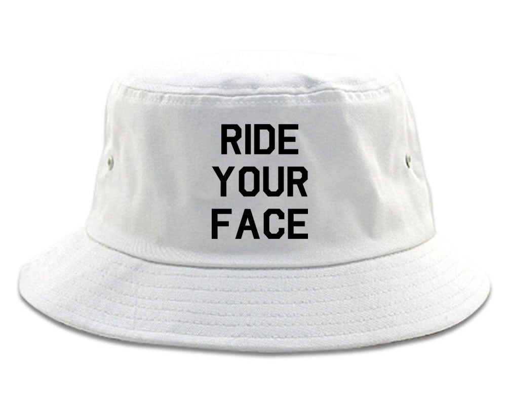 Very Nice Ride Your Face 69 Sexy Black Bucket Hat