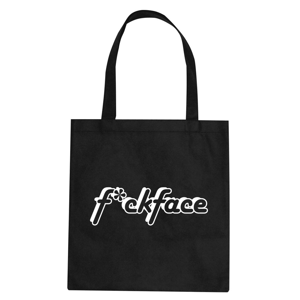 F*ck Face Tote Bag by Very Nice Clothing