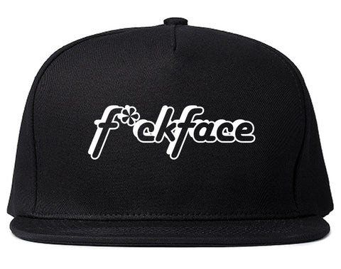 F*ck Face Snapback Hat by Very Nice Clothing