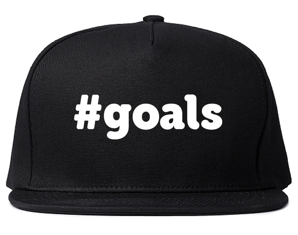 Hashtag Goals Snapback Hat by Very Nice Clothing