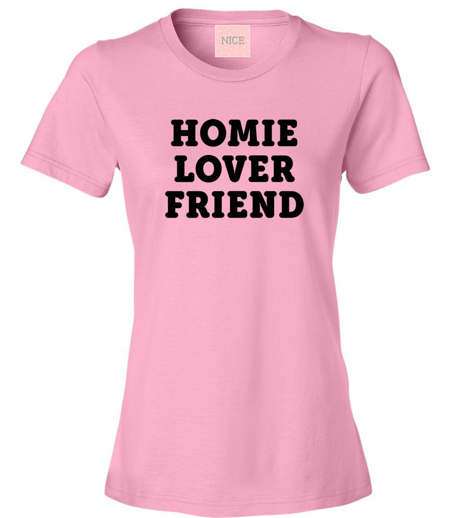 Very Nice Homie Lover Friend Womens T-Shirt Tee White