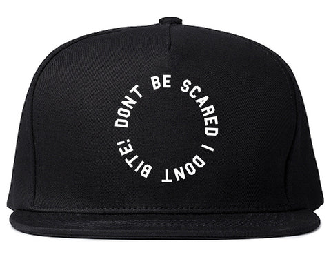 Don't Be Scared I Don't Bite Racoons Snapback Hat by Very Nice Clothing