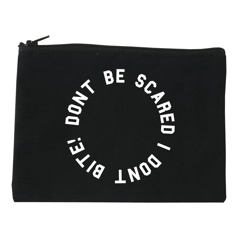 Don't Be Scared I Don't Bite Racoons Makeup Bag by Very Nice Clothing