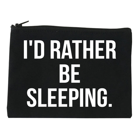 I'd Rather Be Sleeping Makeup Bag by Very Nice Clothing