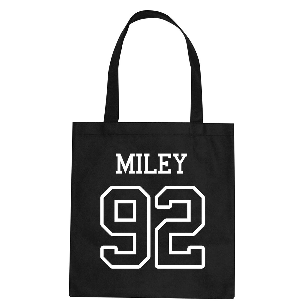 Miley 92 Team Tote Bag by Very Nice Clothing