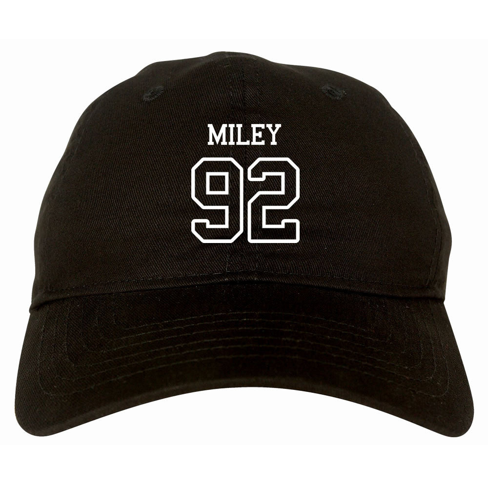 Miley 92 Team Dad Hat by Very Nice Clothing