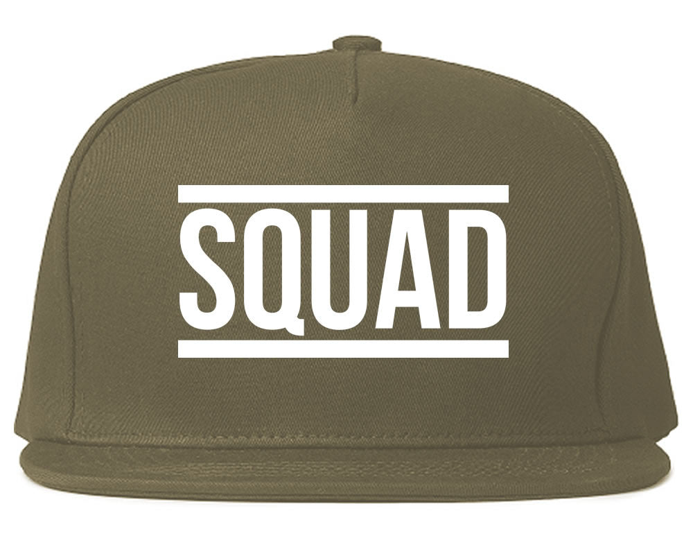 Very Nice Squad Crew Blogger Black Snapback Hat