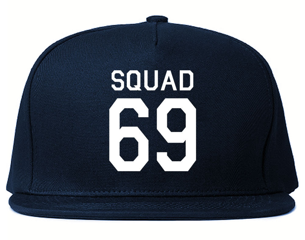 Very Nice Squad 69 Team Jersey Snapback Hat Navy Blue