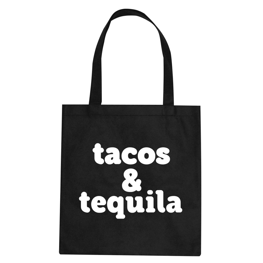 Tacos And Tequila Tote Bag by Very Nice Clothing