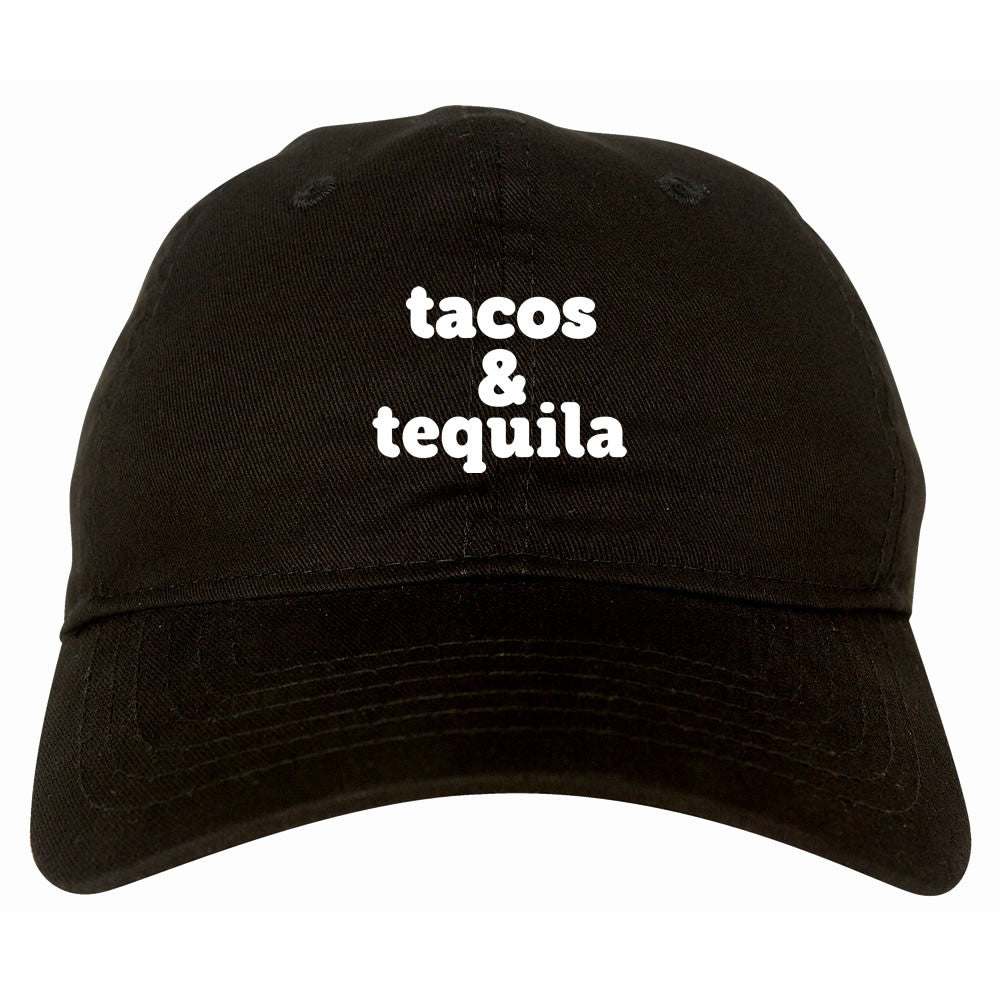 Tacos And Tequila Dad Hat by Very Nice Clothing