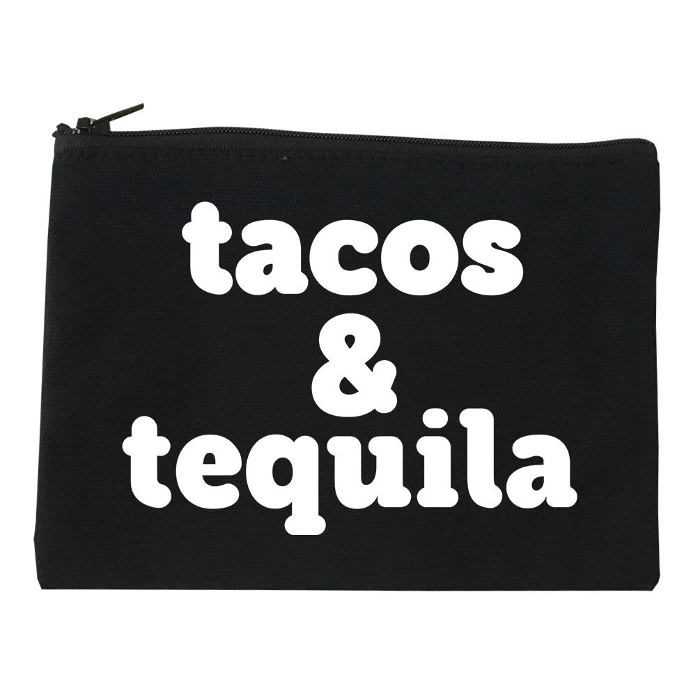 Tacos And Tequila Makeup Bag by Very Nice Clothing