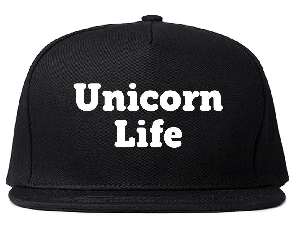 Unicorn Life Snapback Hat by Very Nice Clothing