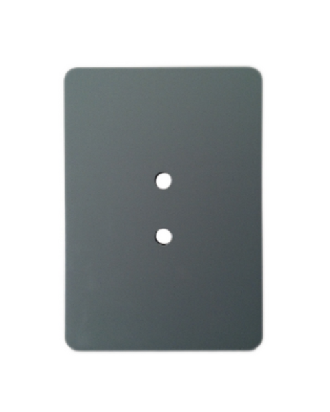 "3.5"" x 5"" Flat Rectangular Hand Hole Cover - Grey"