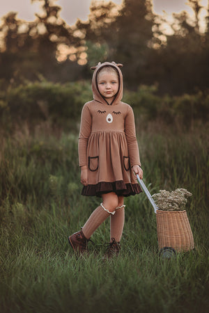 Forest Friends Teddy Bear Dress