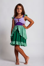 Ariel Princess Twirl Dress