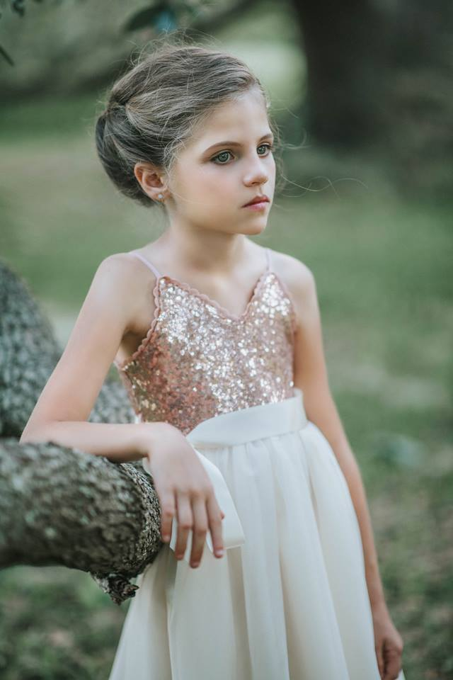 Madeline Ballgown in Rosegold