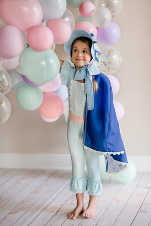Bo Peep Romper and Cape