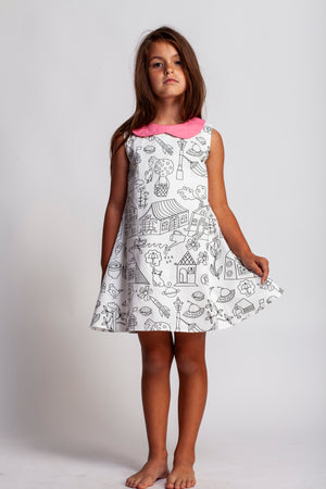 Coloring Book dress