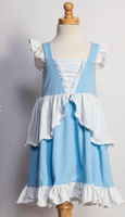 Cinderella Inspired Twirl Dress