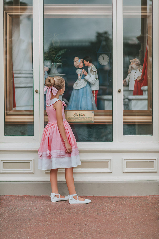 Cinderelly Pink Dress- Fairy Godmother Collection