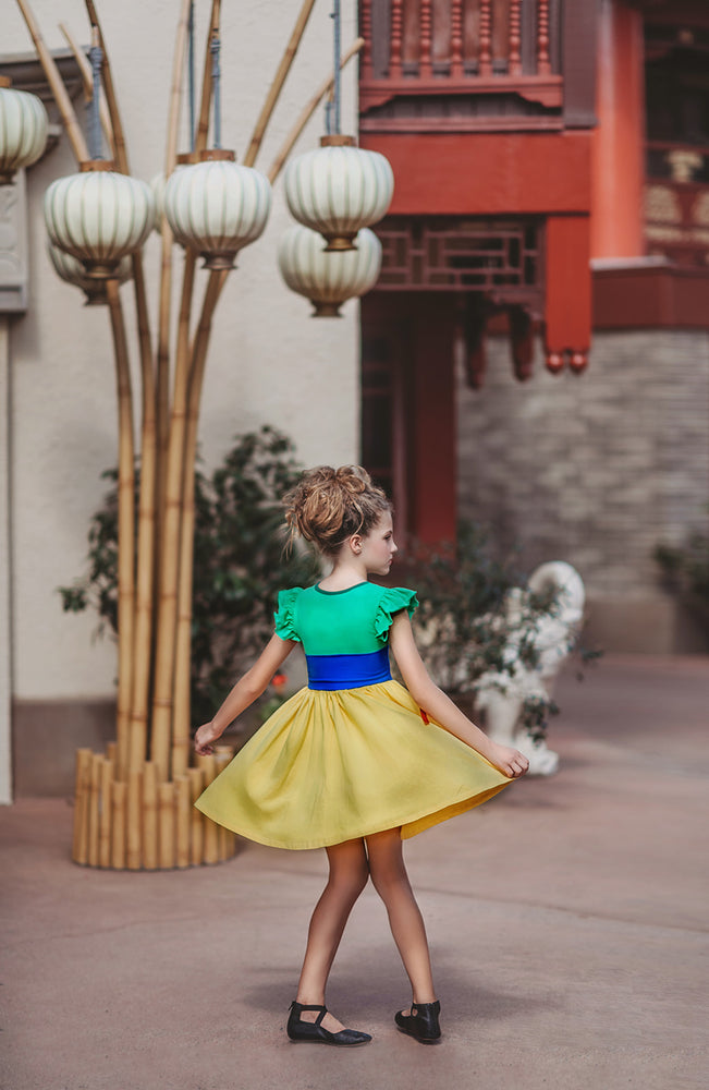 Warrior Princess Twirl Dress
