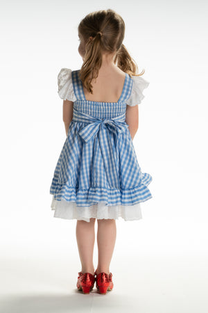 Dorothy Pinafore twirl dress