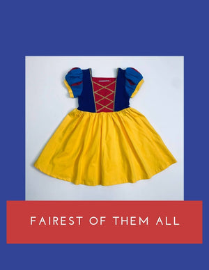 Snow White formal gown
