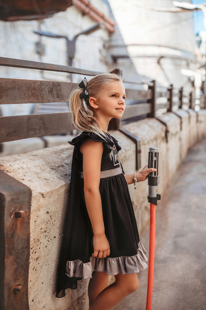 Girls Dark Side Twirl Dress