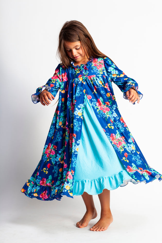 **ANNIVERSARY** Best Selling Watercolor Floral Robe