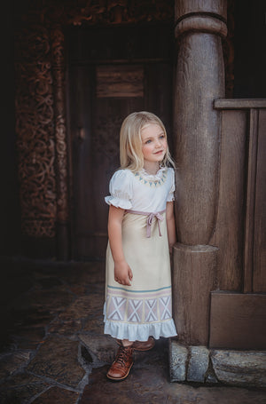 Little Ice Princess Sister Gown