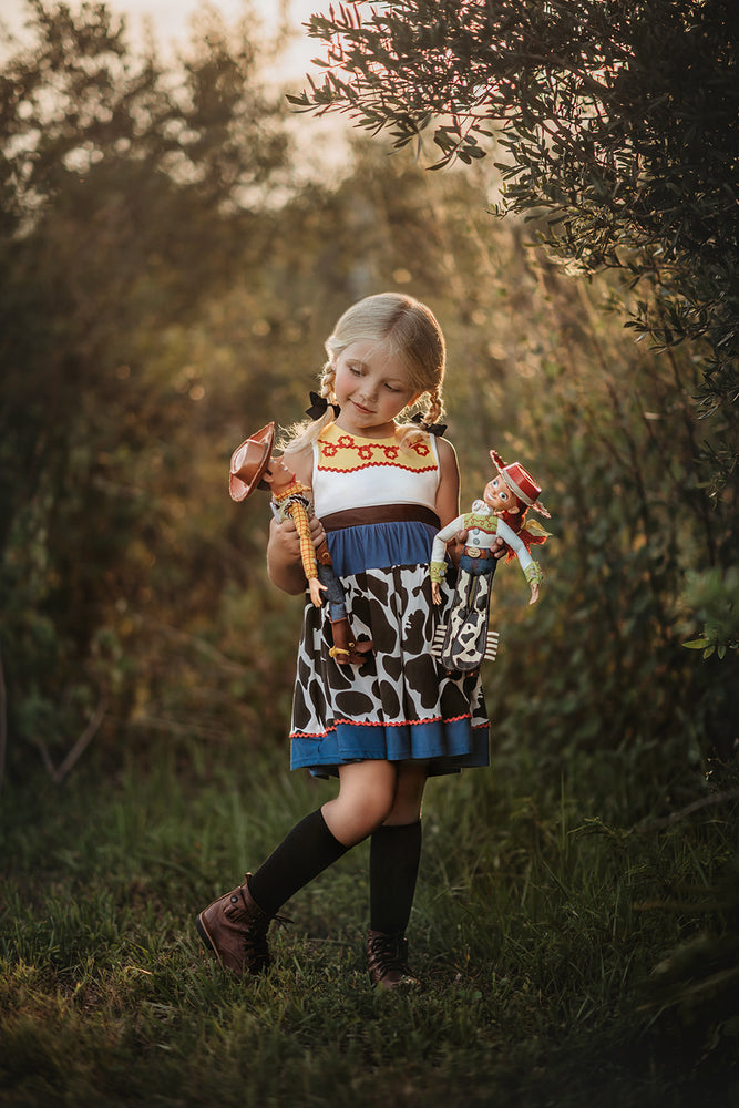Cowgirl Character Twirl Dress