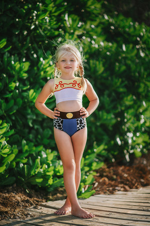 Cowgirl Two Piece Swimsuit