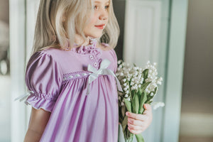 Clara Nightgown in Lavender