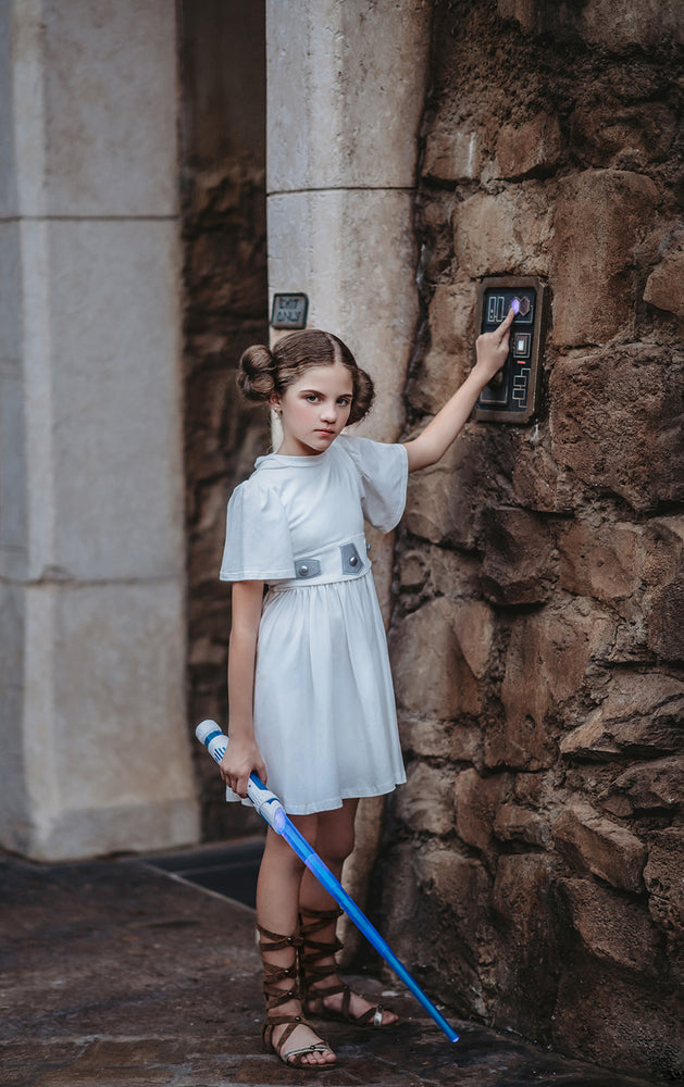Space princess character dress