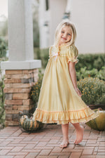 Clara Nightgown in Lemon